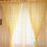 隐形防蚊纱窗-橙黄